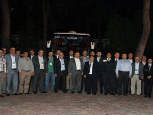 Mercedes Benz Türk, otobüs filo müşterileriyle bir arada