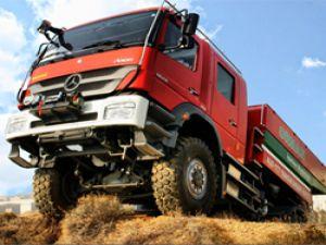 Volkan İtfaiye, 2013'te Mercedes-Benz kamyonları ile teslimatlarına hız verdi