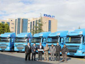 Monde Grup DAF ve TIRSAN ile Taşıyacak