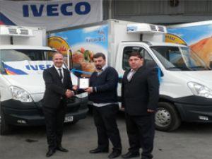 Iveco'dan Harman Gıda'ya 18 adet Daily teslimatı
