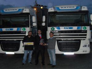 Kayra Uluslararası Nakliyat DAF ile taşıyacak