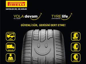 'Pirelli Yola Devam' ve 'Tyrelife' ile yeni yılda aklınız lastiğinizde kalmasın
