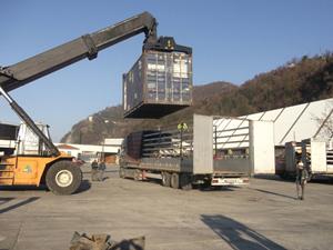 Hopa Limanı, bölgede lojistiğin merkezi olma hedefinde ilerliyor