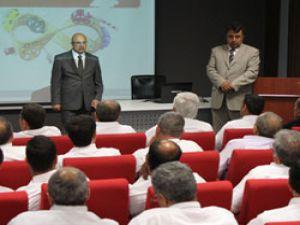 Trafik Haftası kapsamında Gürsel Turizm sürücülerine eğitim