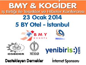 Teşvikler ve Hibeler Konferansı, BMY&KOGİDER İşbirliği ile gerçekleştirilecek