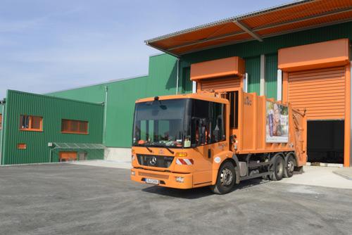 BSR Berlin için ödül: Allison donanımlı CNG kamyonlar, organik atık ile çalışıyor