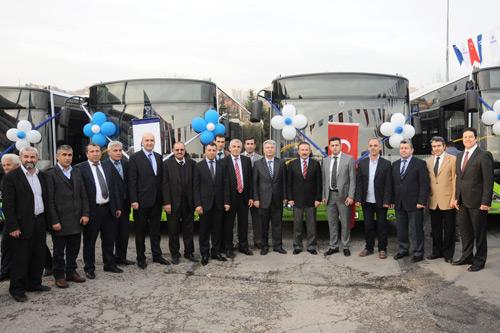 Otokar Kocaeli'ye 36 adet KENT otobüs teslim etti
