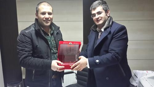 Anadolu Isuzu, Rahmet Ambalaj'a şampiyonları teslim etti