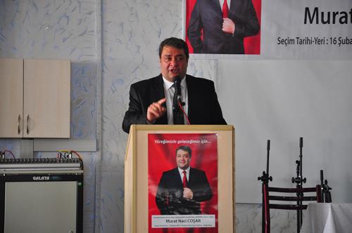 Coşar, ''Hamza Öztürk belediyenin uşaklığına son ver''