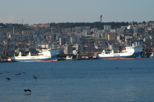 Cenk Group, Haydarpaşa-Sivastopol Roro hattına başlıyor