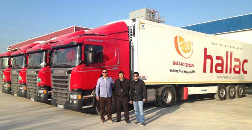 Meysen Gıda'ya 11 adet Scania Streamline