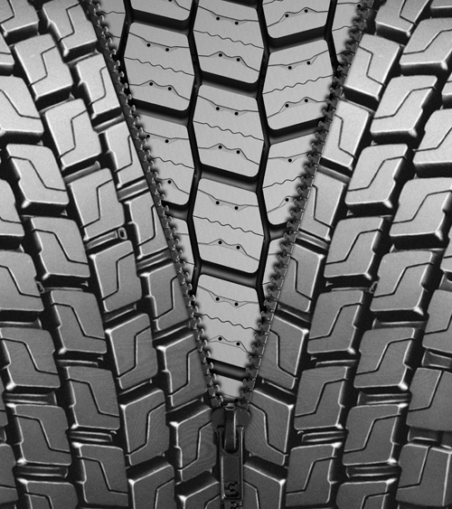 Michelin lastikleri, kaplamayla da kışın güvenlikten ödün vermiyor
