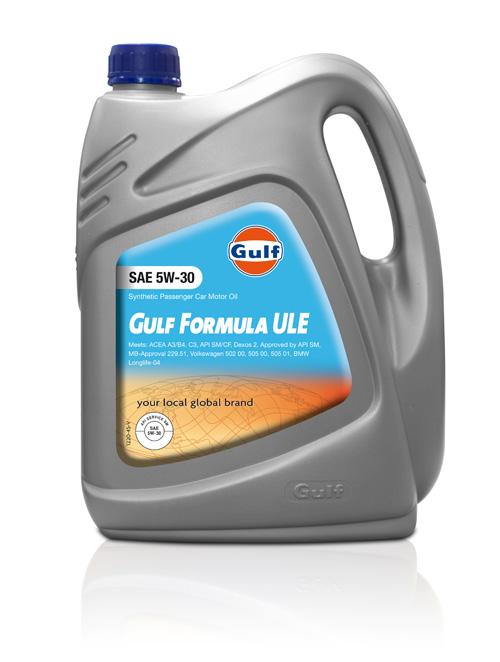 Gulf Formula ULE 5W30 aracın ömrünü uzatıyor