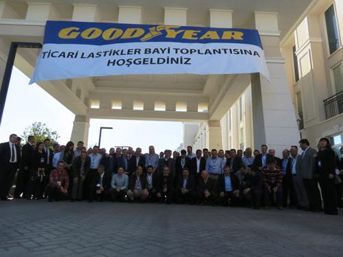 Goodyear Strateji Toplantısı Antalya'da gerçekleşti