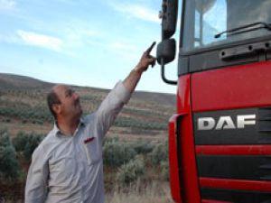 Suriye'deki Türk TIR'ına 36 kurşun