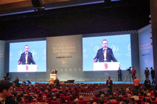 Başbakan Erdoğan, esnafa müjdeyi verdi