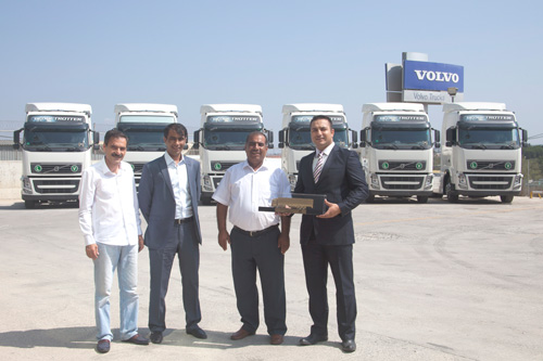 Volvo'dan Akbulut Nakliyat 8 adet teslimat