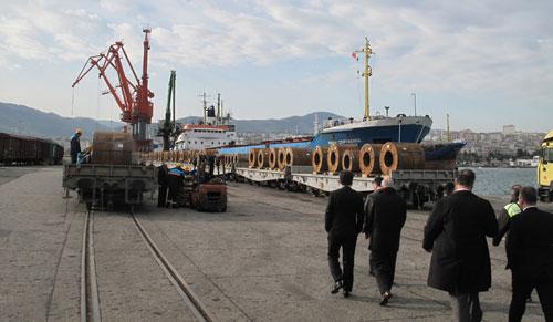 Karadeniz'in en büyük lojistik üssü artık Samsun