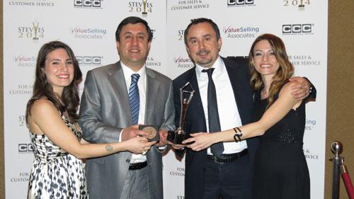 Müşteri memnun ödül Shell & Turcas'ın