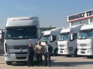 Renault Trucks'dan Atako Taşımacılığa teslimat