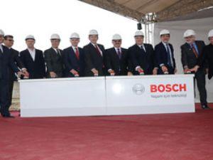Bursa'ya Bosch Fren Sistemleri fabrikasının temeli atıldı