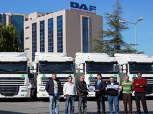 Demirakça Nakliyat'a 10 adet DAF kiraladı