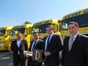 Cevat Logistics bünyesine 10 adet MAN EfficientLine daha katıldı