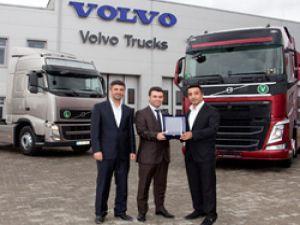 Volvo'dan, Yapımar Madencilik'e teslimat