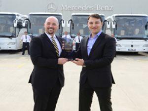 PRNS Taşımacılık filosunu 38 adet Mercedes-Benz Tourismo ile güçlendirdi