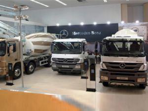 Mercedes-Benz Türk'e inşaat sektöründen yoğun ilgi