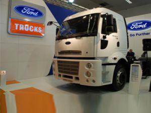 Ford Cargo Mikser Serisi Ankara Beton Fuarı'nda sektörle buluştu