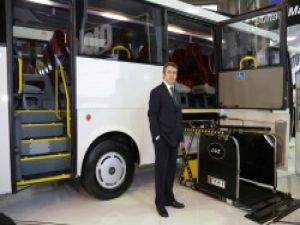 Otokar Busworld Türkiye'de yeni aracı Engelsiz Sultan Maxi'yi tanıttı