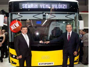 Anadolu Isuzu 12 metrelik otobüsünü Busworld Fuarında sergiledi: Citiport
