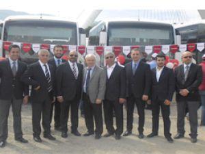 Yükseliş İsuzu'dan 15 adet Novo Otobüs Teslimatı