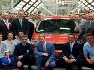 Ford Otosan Yeniköy fabrikasını açtı,