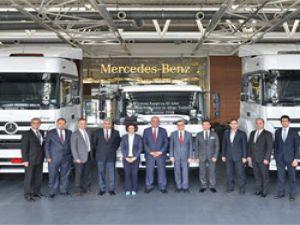 Aras Kargo filosunu Mercedes-Benz ile güçlendirdi