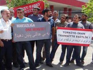 Türk Nakliyecilerinden İrana Tepki