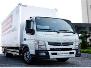 Mitsubishi Fuso, yeni modeli Canter TFB85 ile sınıfında çığır açacak.