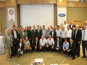 Yeni başkan Bayraktaroğlu üyeler ile buluştu