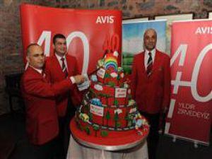 Avis 40. yaşını kutladı