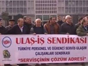 İstanbullu servisçi isyan bayrağını çekti