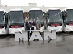 Pamukkale, MAN Lion's Coach otobüsleri filosuna kattı