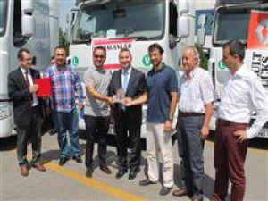 Sönmez Bustaş 33 aracını Renault Truckstan teslim aldı