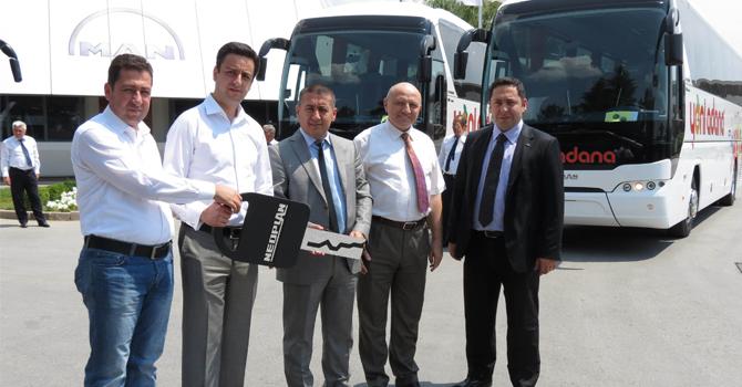 Yeni Adana Seyahat'e 10 adet  Neoplan Tourliner EfficientLine