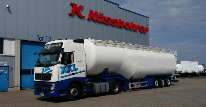 Kassbohrer'den XX Lojistik'e 90m3 damperli silobas teslim edildi