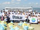 Otokar Sapanca Gölü kıyısını temizledi