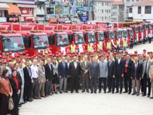 Ümraniye Belediyesi araç filosunu güçlendiriyor