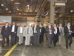 Bakan Nihat Ergün'den, Otokar Fabrikası'na ziyaret