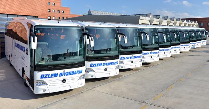 Özlem Diyarbakır filosuna 10 adet Travego Ekledi