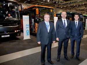 Temsa, İsveç'te PersonTrafik Fuarı'nda 4 aracını tanıttı